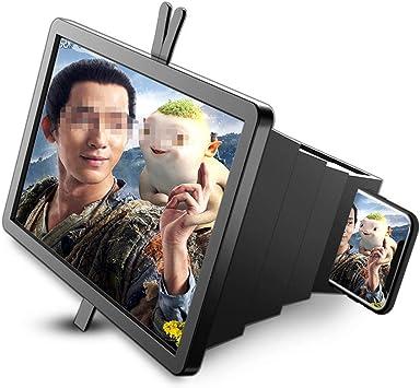BLUCE 14 Lupa De Pantalla De Teléfono 3D, Mejorada Ampliación De ...