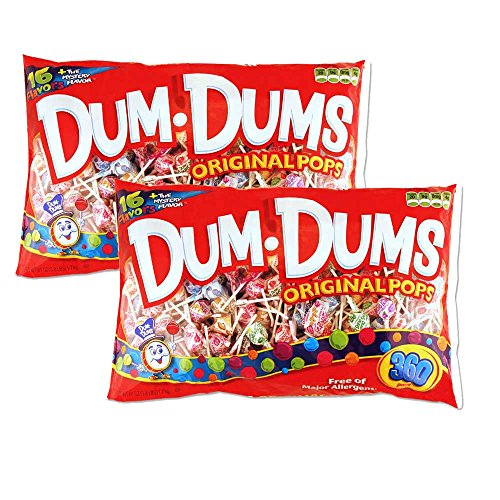 Dum Dums - 360 count bag packed 2s]()