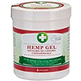 Annabis Hemp Gel – Massage gel for Frequent Massage of the Skin in the Area of Muscles, Back and Joints made from Cannabis Sativa Hemp Seed Oil (300ml)