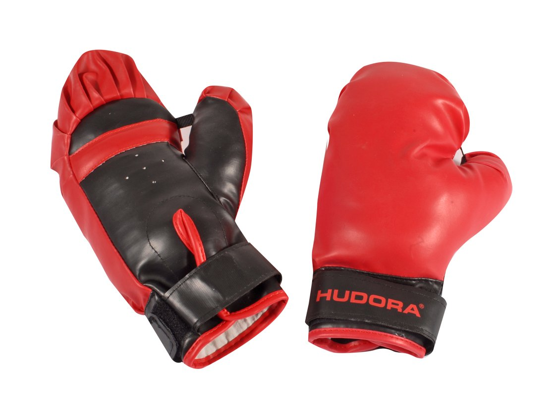 HUDORA Punching Ball With Boxing Gloves And Pump by by HUDORA (Image #4)
