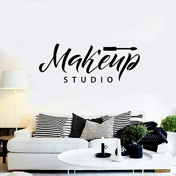 wukongsun Makeup Studio Wall Art Applique Cosmetics Vinyl Sticker ...