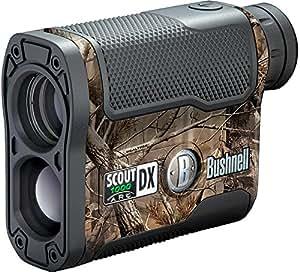 Bushnell Scout DX 1000 ARC - Telémetro láser de caza, color camuflaje