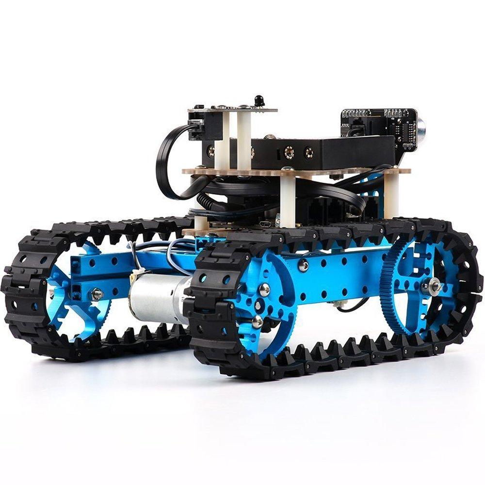 Makeblock DIY Starter Robot kit - Premium Quality - STEM Education - Arduino - Scratch 2.0 - Programmable Robot Kit for Kids to Learn Coding, Robotics and Electronics (IR Version) by Makeblock (Image #6)