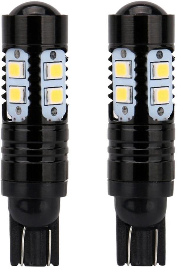 Black Car LED Light,Car-styling NEW 2 x 50W 921 912 T10 T15 LED 6000K HID White Backup Reverse Lights Bulb