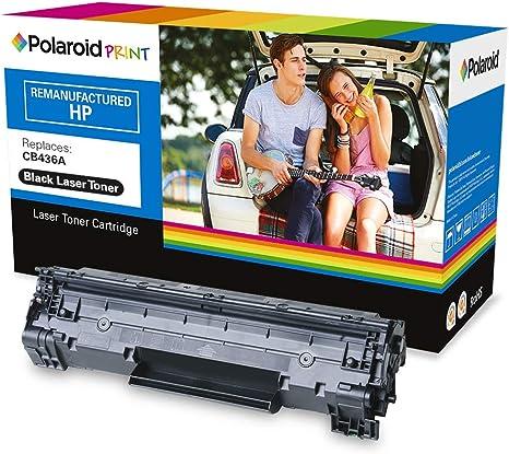 Polaroid - Polaroid Toner LS-PL-22036-00 remplace HP CB436A, Noir: Amazon.es: Electrónica