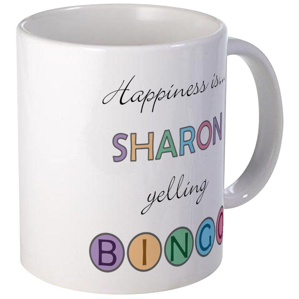 CafePress - Sharon BINGO Mug - Unique Coffee Mug, Coffee Cup