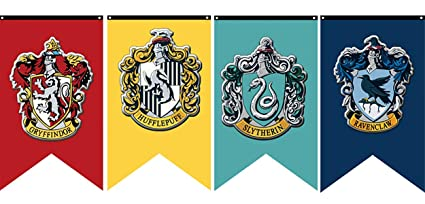 photograph about Harry Potter House Banners Printable named : iMod Harry Potter Detailed Hogwarts Residence Wall