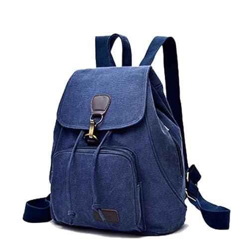 Coloré(TM Petit sac à dos en toile pour femme