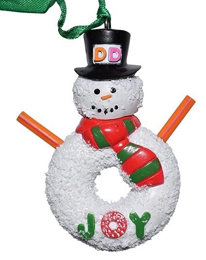 fca2ea7b55a54 Dunkin Donuts Snowman Ornament.