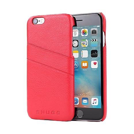 Snugg Carcasa iPhone 6 Plus y 6S Plus, Funda Ultra Fina Gris Antideslizante y Protectora con Garantía de por Vida para iPhone 6 Plus y 6S Plus