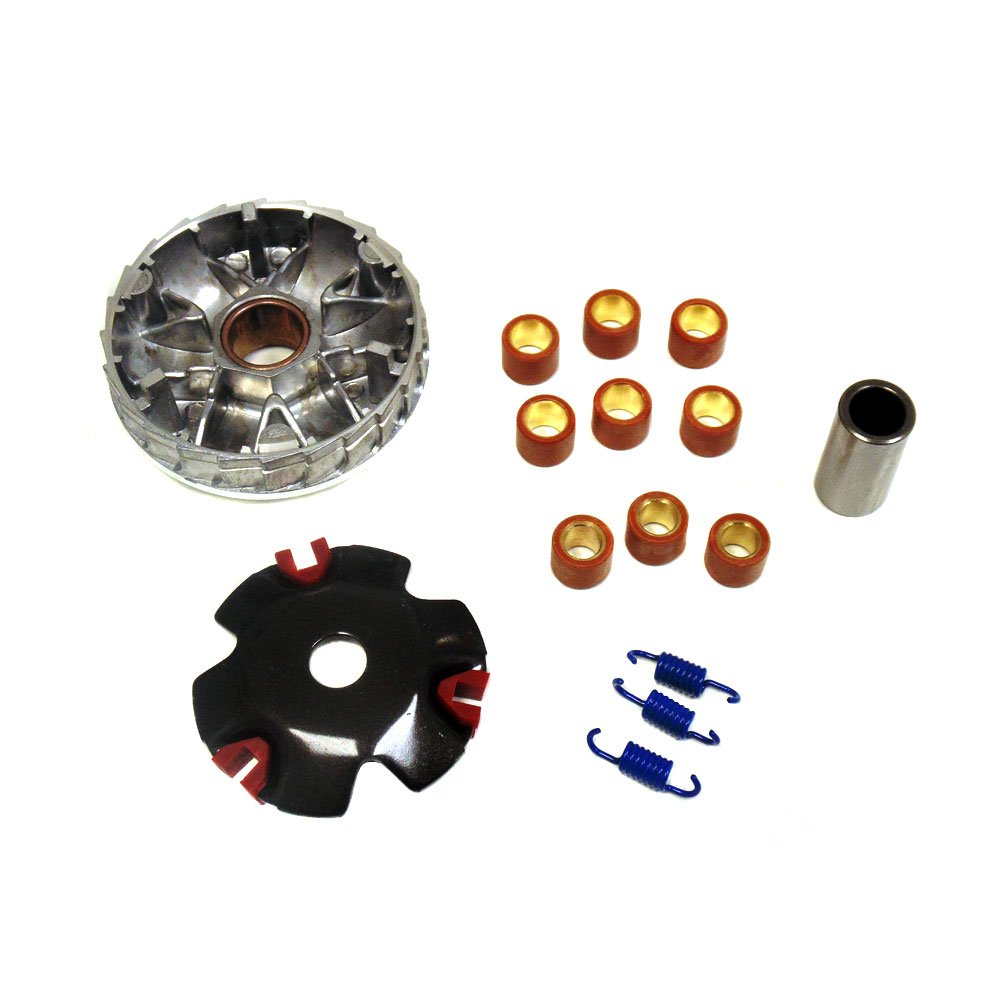High-Performance Racing Variator Kit for Chinese Scooter Moped ATV 4-Stroke GY6 50cc 80cc 100cc 139QMB 139QMA Engine Front Clutch MMG