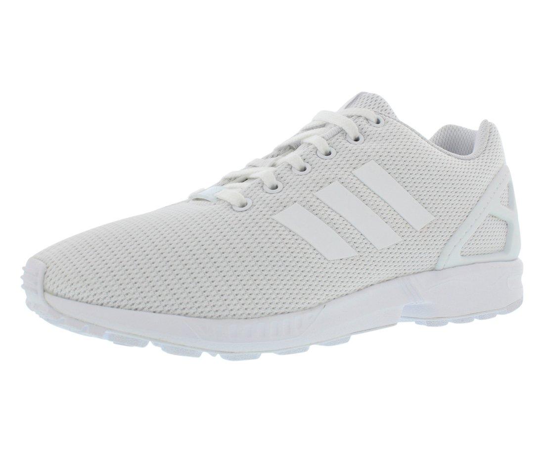 adidas Originals Men's ZX Flux Fashion Sneaker B01FY6OJII 7.5 D(M) US|White/White/Light Grey