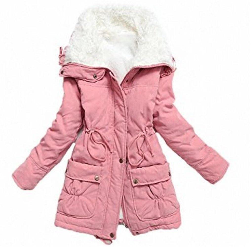 Amazon.com: SATUKI saco de invierno con capucha, grueso, de ...
