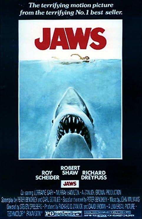 Amazon.com: Mandíbulas Shark Attack enorme clásico Paper ...