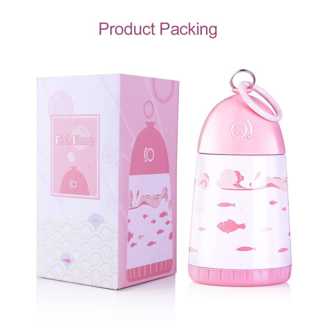 Amazon.com: RED MAISON Kids Thermos, Cute Girls Water Bottle (10OZ ...