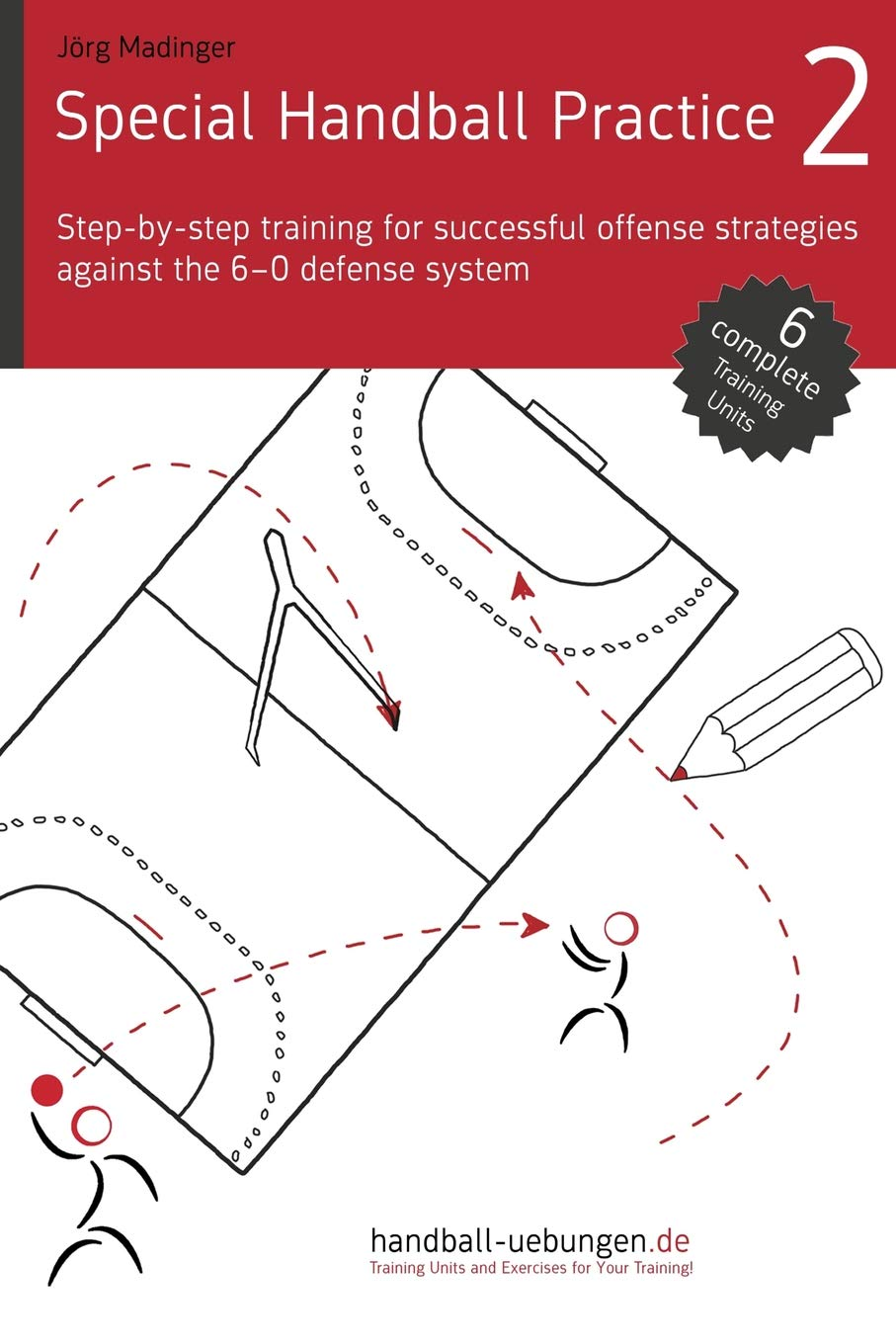 Special Handball Practice 2   Step By Step Training Of Successful Offense Strategies Against The 6 0 Defense System