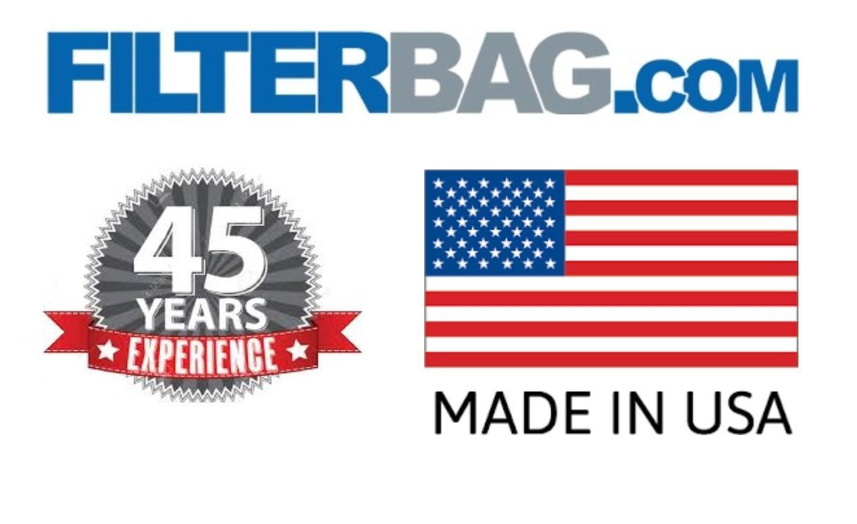 Midwest Filter Heavy Duty Insulation Removal Bags, 4x6, 75 Cubic Feet, Made in USA (10) by Midwest Filter