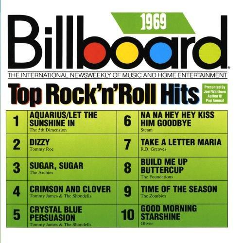 Billboard Top Rock'N'Roll Hits, 1969 by BILLBOARD TOP ROCK N ROLL H