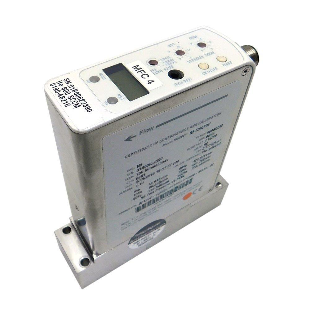 Brooks Instrument GF120CXXC Mass Flow Controller MFC He 600 ...