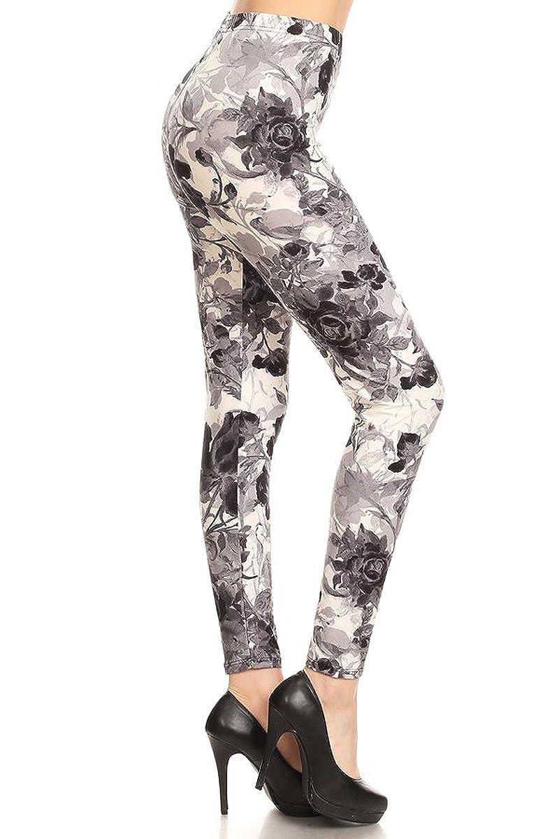 Leggings Depot Women's Ultra Soft Fashion Leggings BAT28
