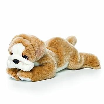Amazon Com Nat And Jules Laying Large Bulldog Children S Plush