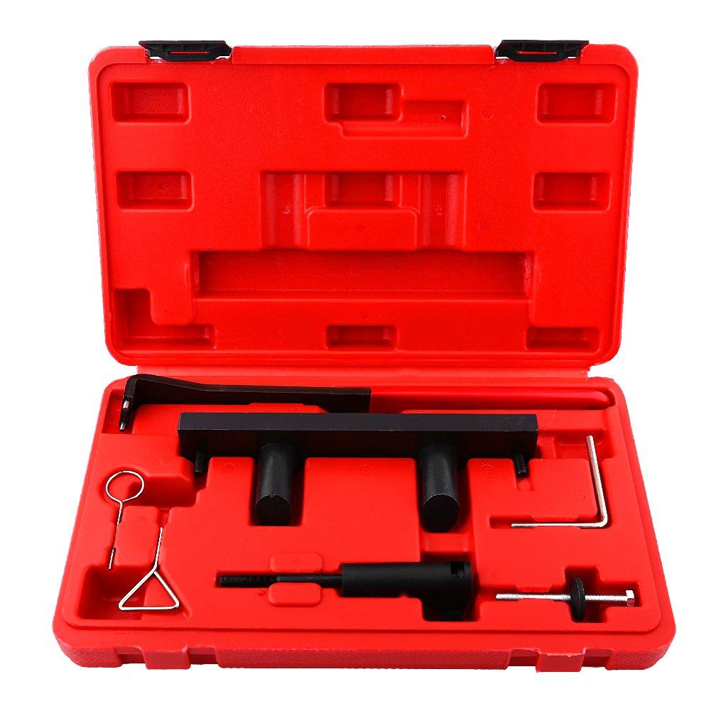 Engine Timing Tool Set,Pack of 7pcs Auto Repair Professional Tools Camshaft Alignment Timing Tool Kit for AUDI VW 2.0L FSi TFSi