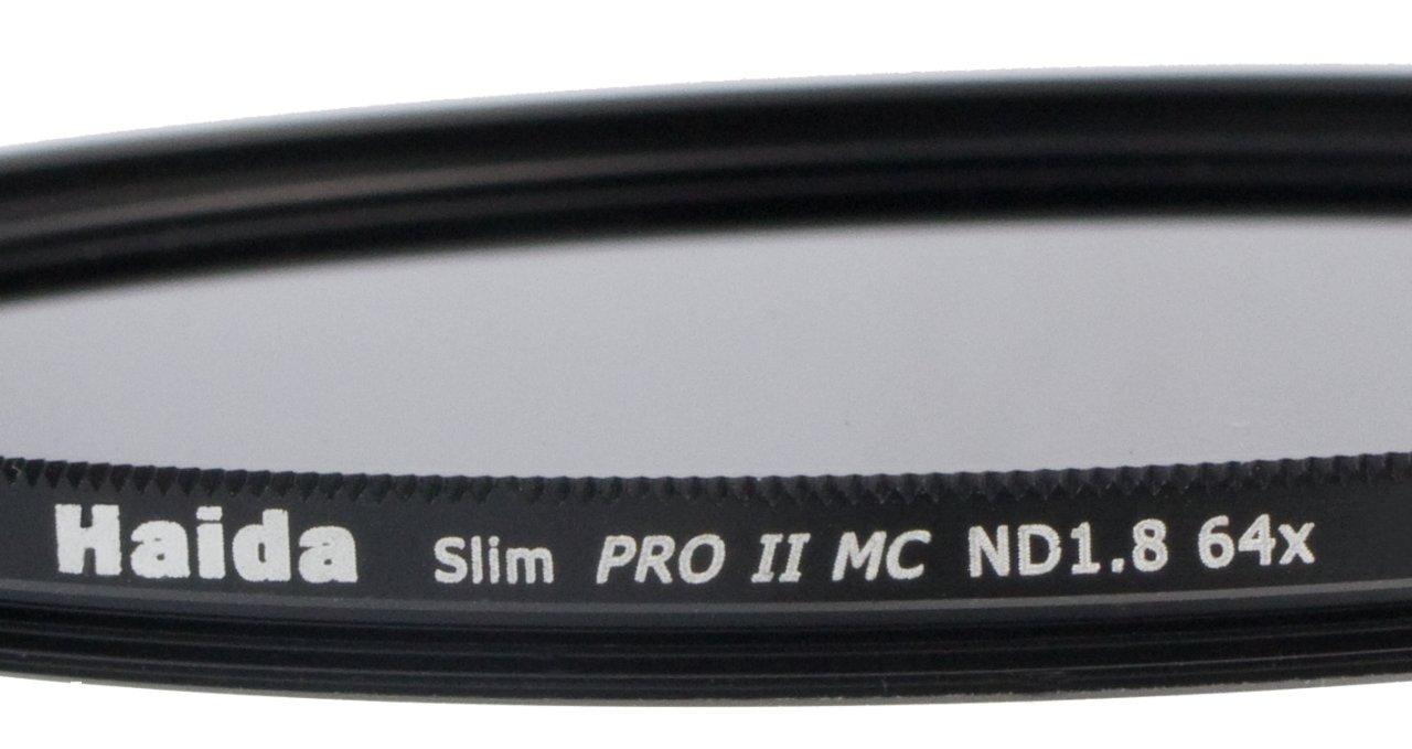 incluyendo tapa del objetivo con el mango interna Filtro de Densidad Neutral PRO II MC ND64 Slim 82mm