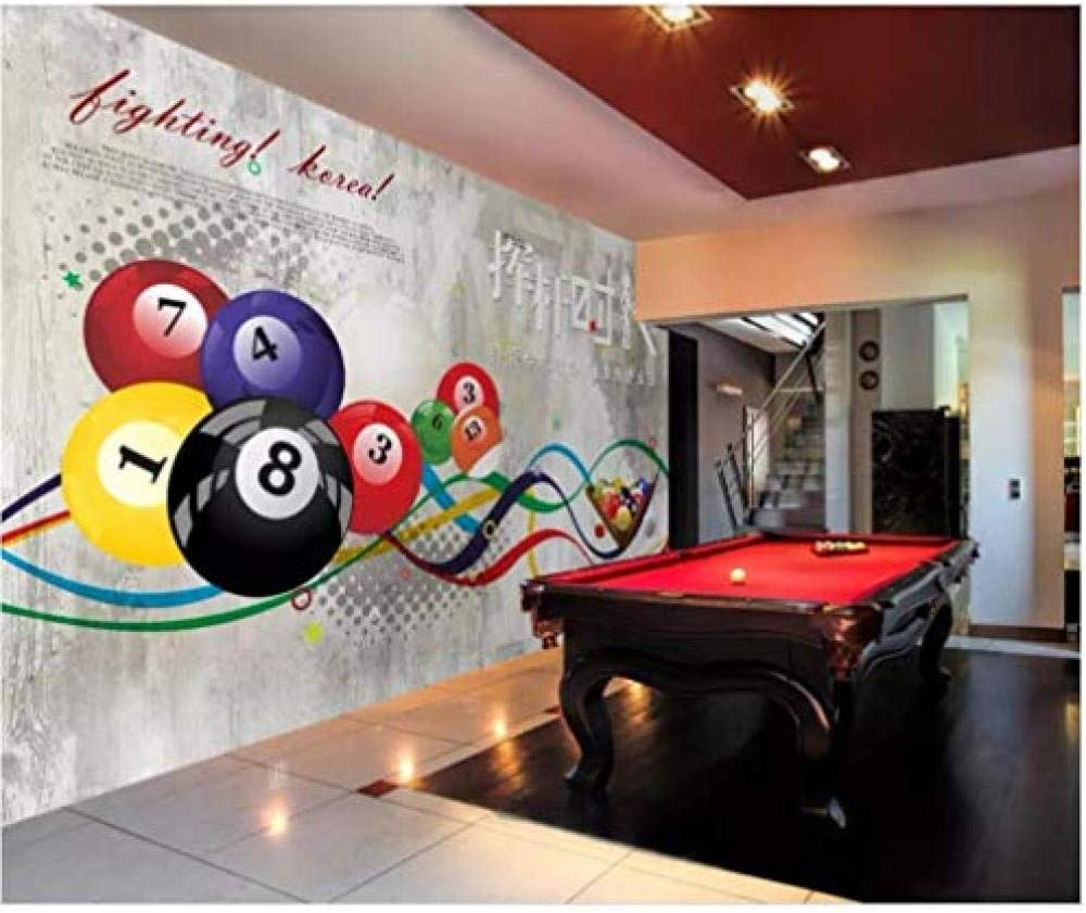Kssim Mural 3D Photo Wallpaper Swing Pool Sala De Billar Sala De ...