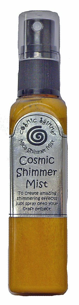 Cosmic Shimmer Mica Shimmer Mister, Rich Gold Creative Expressions CSMRICH