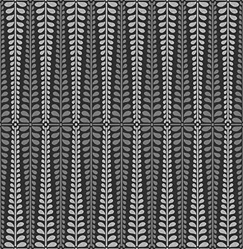 Wallpaper Stripe Modern (A-Street Prints 2716-23826 Stellar Black Floral Stripe Wallpaper Stellar Floral Stripe Wallpaper)