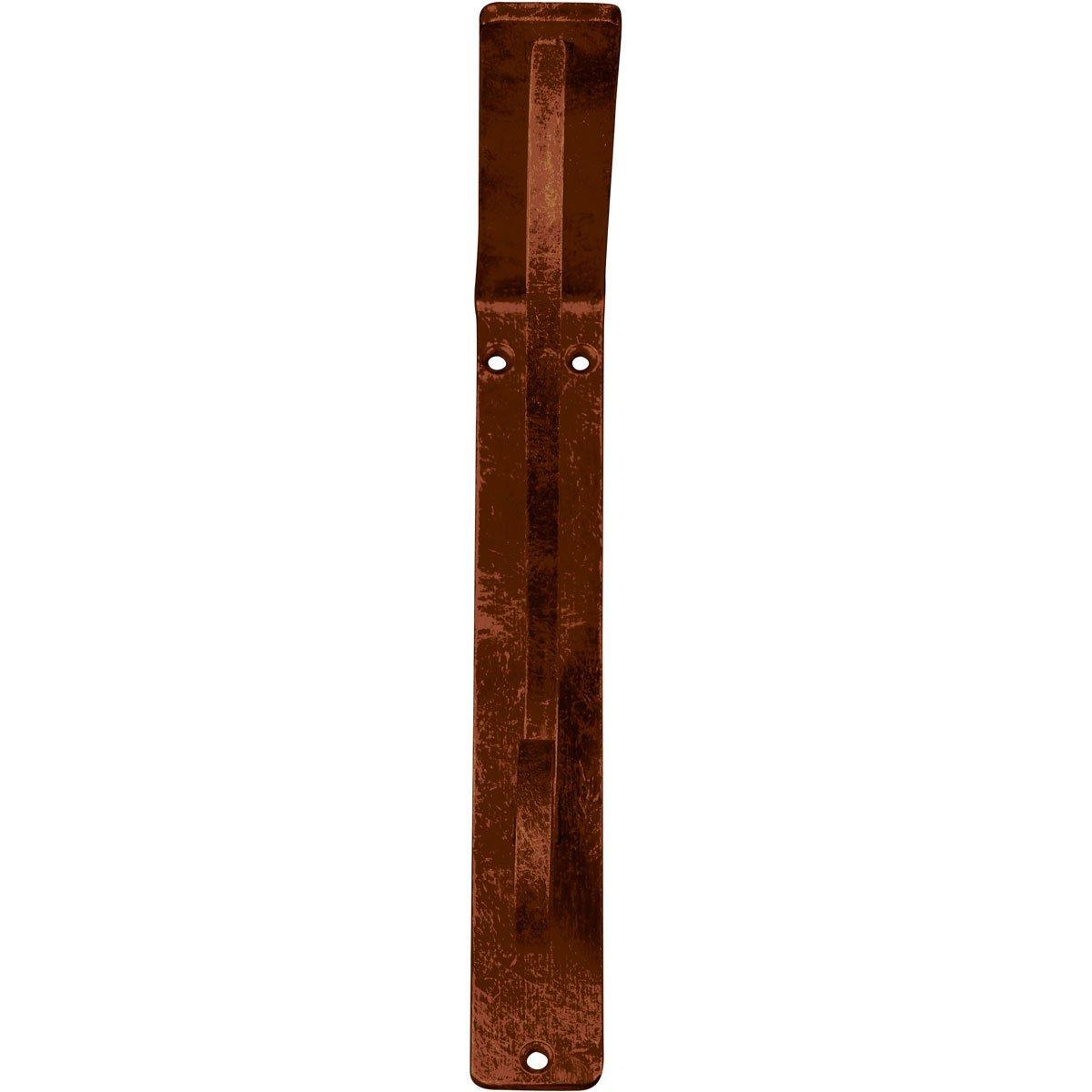 Ekena Millwork BKTM02X12X15TAS  2-Inch W x 12-Inch D x 15-Inch H Ashford Triple Wrought Iron Bracket