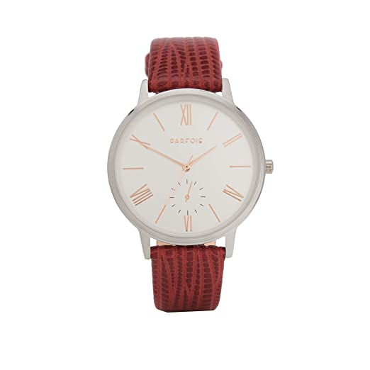 Parfois - Reloj Red - Mujeres - Tallas Única - Marsala