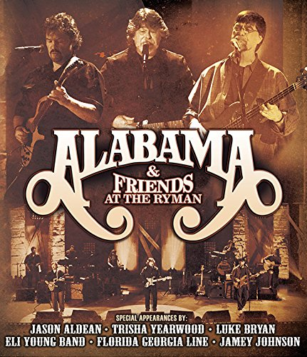 CD : Alabama - At The Ryman (With DVD, Digipack Packaging, 3PC)