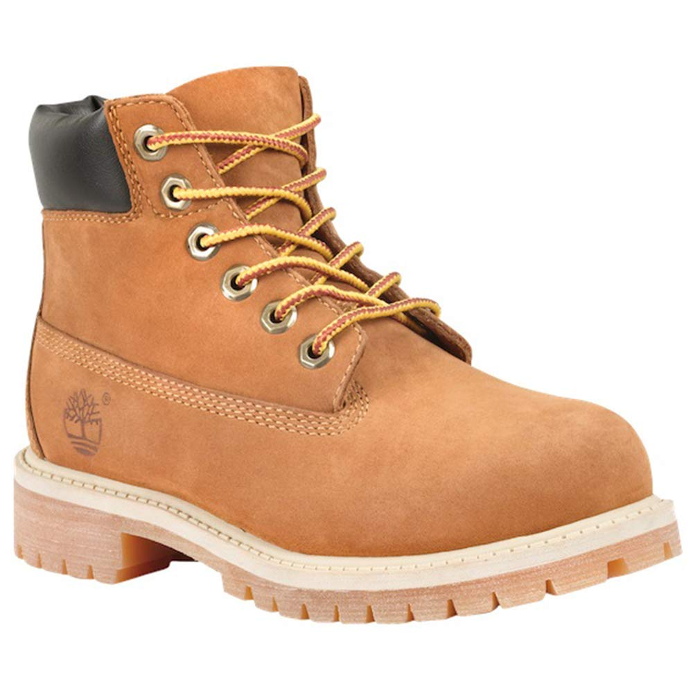 Timberland 6'' Premium Youth US 6 Brown Work Boot