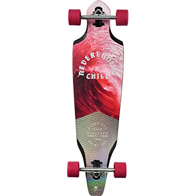 GLOBE the Cutler Skateboard/Longboard Mixte Adulte, Crimson Chill, L