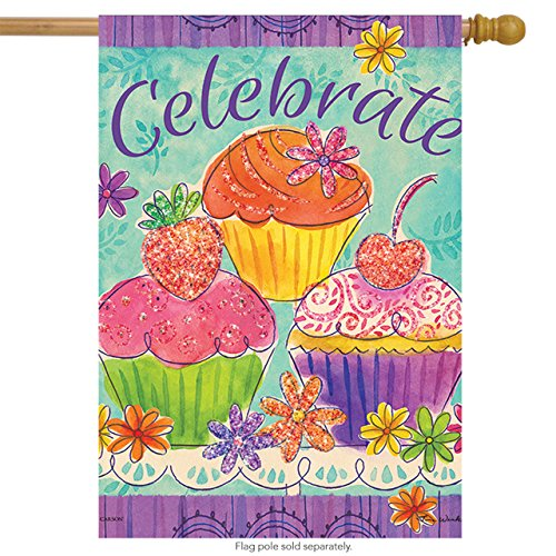 s House Flag - Cupcakes ()