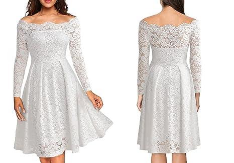 Vestidos De Fiesta Sexys Cortos Ropa De Moda Para Mujer Elegante Casuales De Encaje VE0049 at Amazon Womens Clothing store: