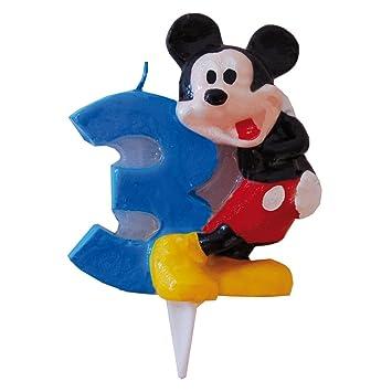 Mickey Mouse - Vela Nº 3 (Verbetena 014000393)