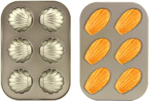 6-Hole Madeleine Mold Cake Pan