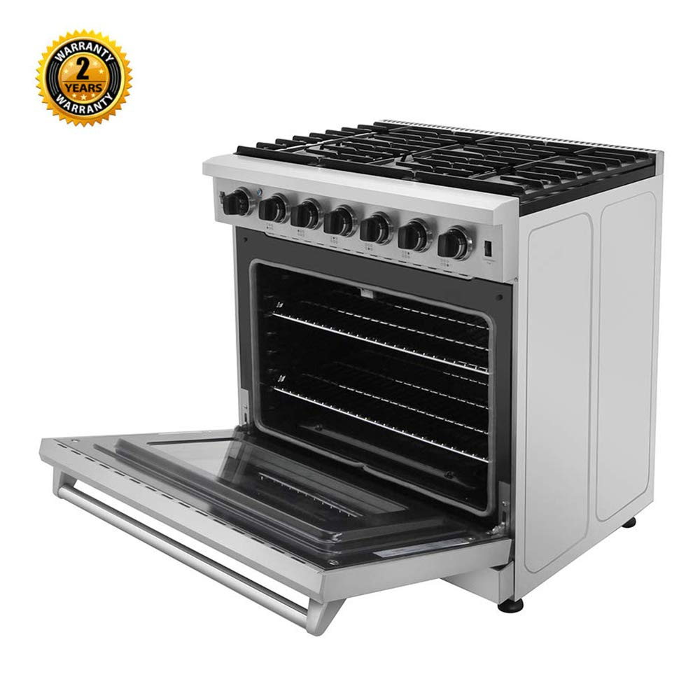 Lrg3001u 5 Burners Thor Kitchen 30 Inch Freestanding Pro Style Professional Gas Range With 4 55 Cu Ft Oven In Stainless Steel Freestanding Ranges Ranges Femsa Com