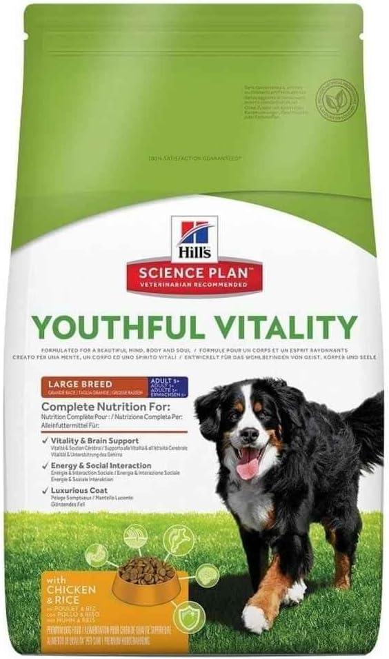 Hills Scie Hsp Canine Adult +7 Youthful Raza Grande Pollo 10Kg 10000 g