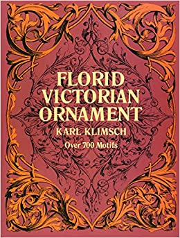 Florid Victorian Ornament Lettering Calligraphy