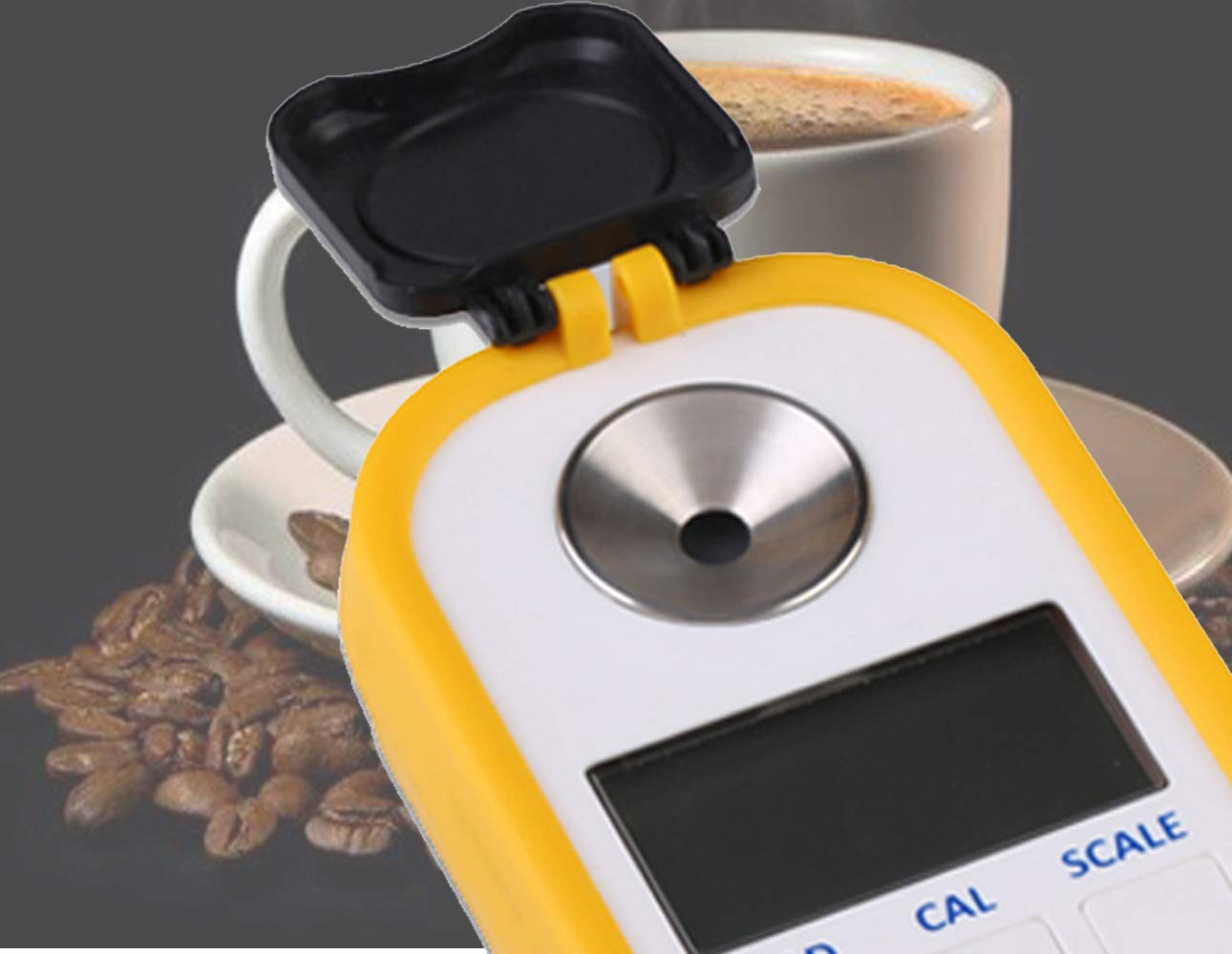 TC Digital Coffee Concentration Meter Coffee Brix Meter Brix/TDS Dual-Purpose Type TDR701