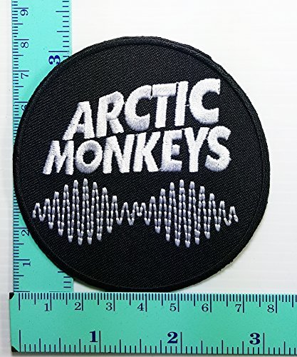 Arctic Monkeys Music Rock Band Patch Logo Sew Iron on Embroidered Appliques Badge Sign Costumev - Iron On Patches Monkey