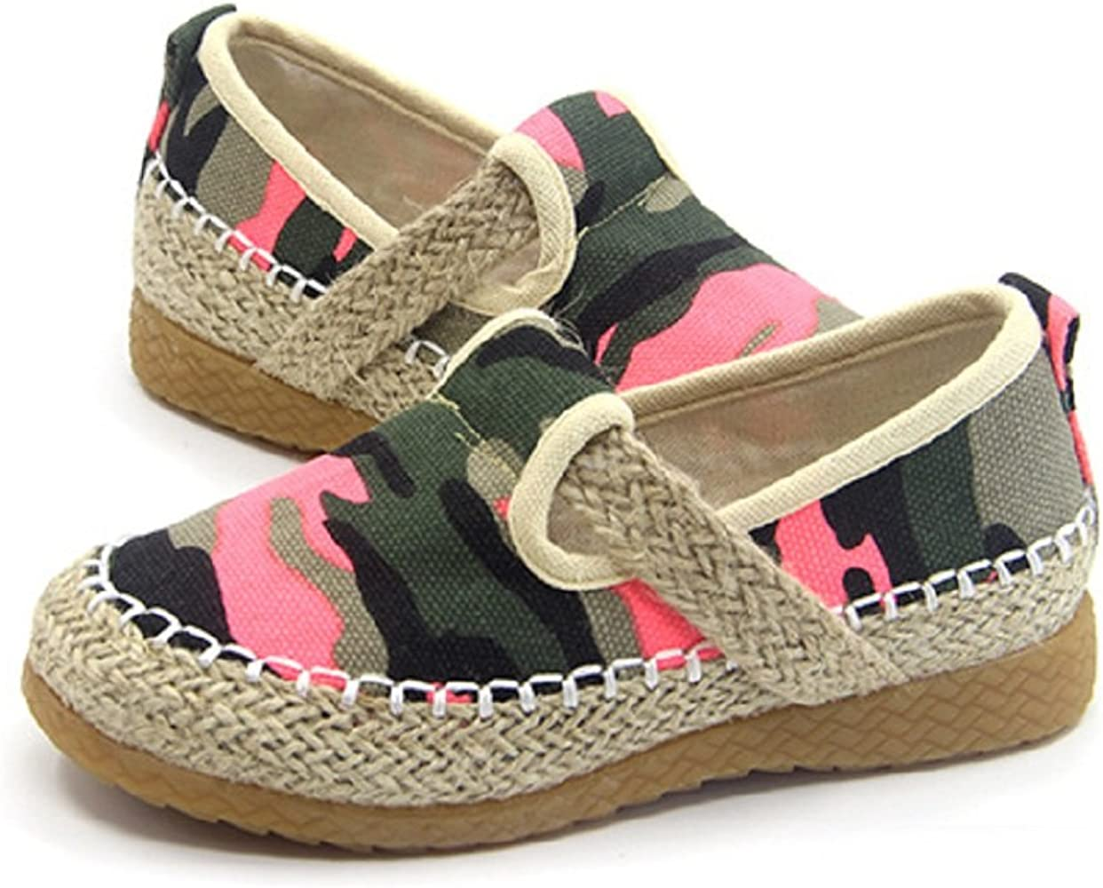 Tianrui Crown Boys Camouflage Printed Loafer Shoes Kids Cute Flat Shoe
