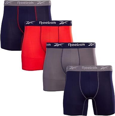 Ropa Interior C/ómoda para Hombres Paquete de 6 Piezas Calzoncillos Hombre Boxer Algodon