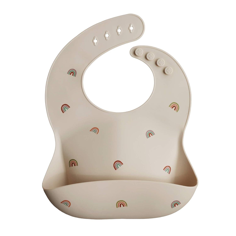 Bibs pacifier Mushie Case Gift for baby Mushie Bib Set of 3