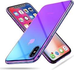 IVANTRA Funda Gradiente Tornasol Violeta para iPhone (6/6s Plus)