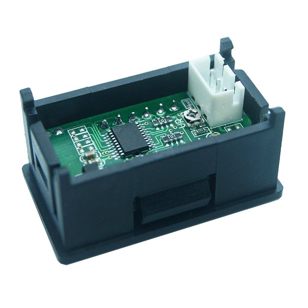 DC 0-99.99V (100V) 4-digits 0.36inch Digital Voltmeter 3Wire Voltage Panel Meter by SQLang (Image #7)