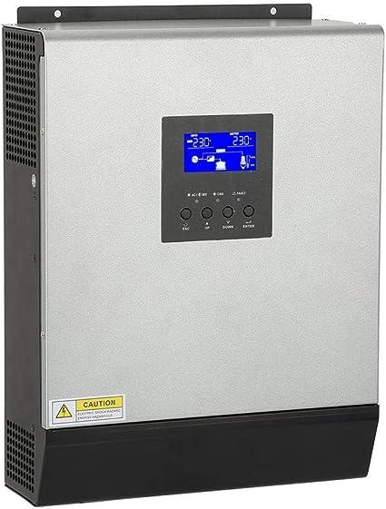 3KVA 2400W High Frequency Hybrid Pure Sine Wave Inverter Built in Solar Controller 50A 24V Hybrid Inverter